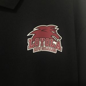 new concept 9116f 516dc Loyola University New Orleans black polo shirt XL NWT